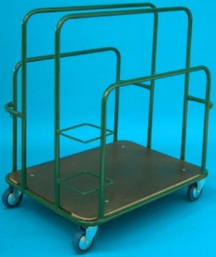 carrello brico porta pannelli quadri con suddivisioni