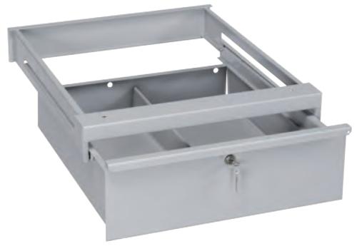 Banco Di Lavoro Con Cassetti : Cassetto in ferro con serratura per tavolo da lavoro h