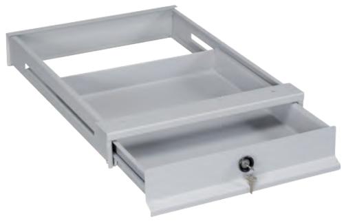 Ruote Per Tavolo Da Lavoro : Cassetto in ferro con serratura per tavolo da lavoro 515x630xh80