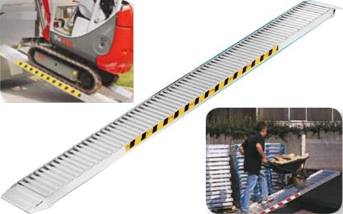 Rampe di Carico in Alluminio Senza Bordo H.135 mm.4500 Kg.2490 [H13545SBF] - 1,716.30EUR ...