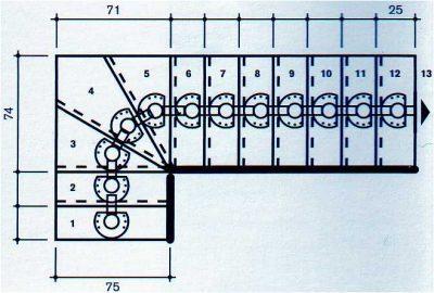 Scala a giorno a rampa da interni kit universal maxi l75 - Scale interne misure ...